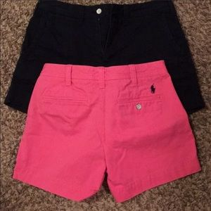 Polo Ralph Lauren Woman's Sz 4 2 Blk&Pink 2 Tanks
